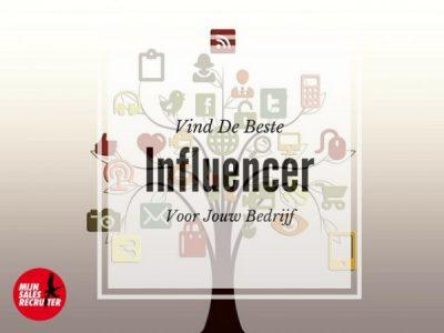 Hoe vind je de beste influencer voor jouw bedrijf?
