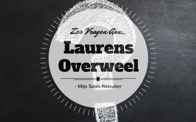 Zes vragen aan… Laurens Overweel